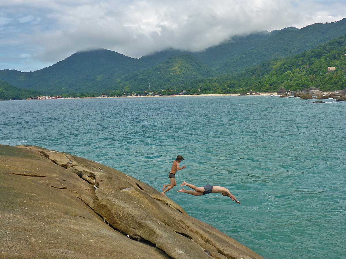 59 Letzter Tag am Strand in Paraty