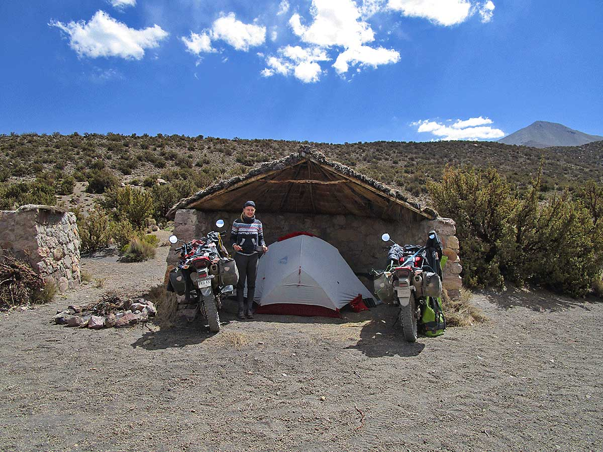 033 Unser Camp im Sajama Nationalpark